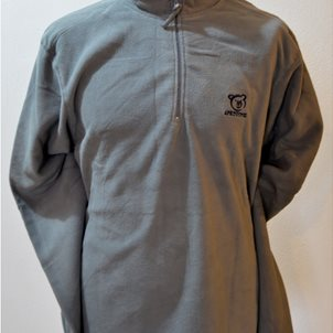 Image of product Fleece zip half