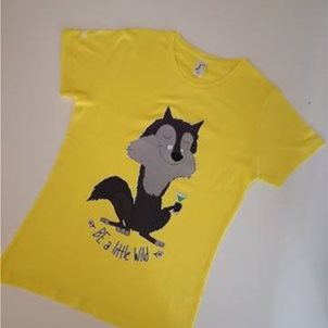 Image of product TSHI48 T-SHIRT ΓΥΝΑΙΚΕΙΟ BE A LITTLE WILD