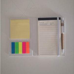 Image of product Σημειωματάριο με post it και στυλό