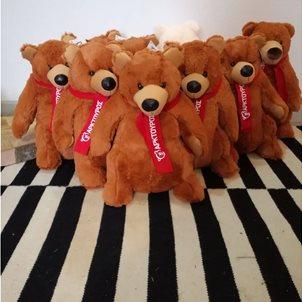Image of product Λούτρινο μεγάλο αρκούδι