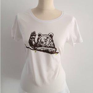 Image of product T-shirt γυναικείο Αρκούδα που χαιρετάει