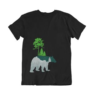 Image of product T-SHIRT ΑΡΚΟΥΔΑ ΣΤΟ ΔΑΣΟΣ