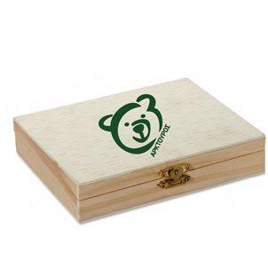 Image of product Σετ ζωγραφικής σε ξύλινο κουτί