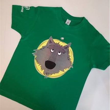 T-shirt παιδικό λύκος cartoon