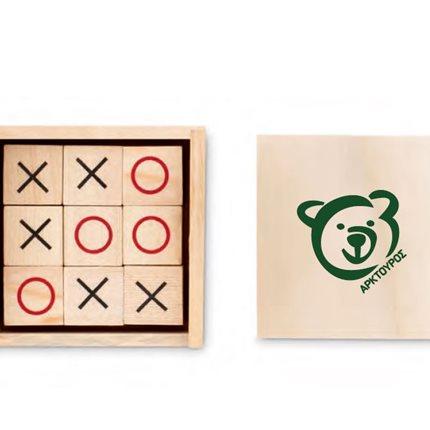 Ξύλινο Παιχνίδι Τρίλιζα