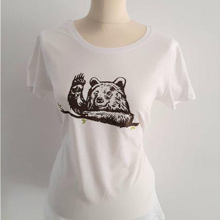 T-shirt γυναικείο Αρκούδα που χαιρετάει