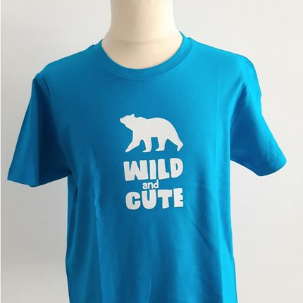 T-shirt παιδικό Wild and Cute