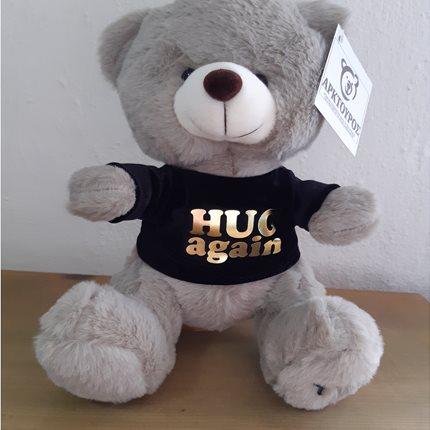 """Λούτρινο αρκούδι """"HUG AGAIN"""""""