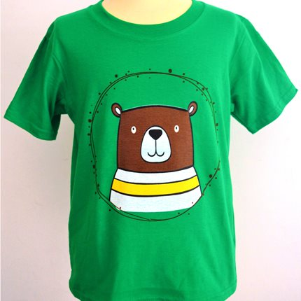 T - shirt παιδικό αρκούδι