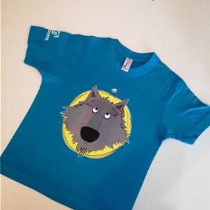 Image of product T-shirt παιδικό λύκος cartoon